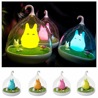 Totoro Night Light Bedside Lamp Children's Present Gift Toy Safe Touch Sensor UK