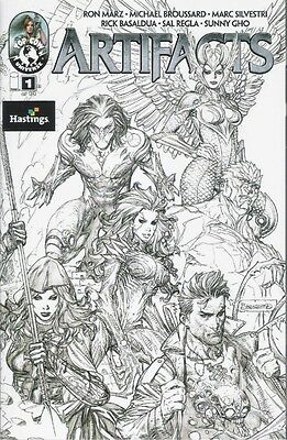 Artifacts #1 Hastings variant NM- ~ Marc Silvestri ~ Darkness ~ Witchblade
