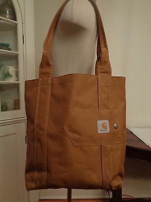CARHARTT Women's essential tote shopper NWOT canvas durable poly