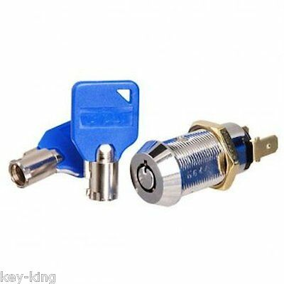 BDS Momentary Tubular Key Switch-Alarm, Arcade, Vending,-Free Postage