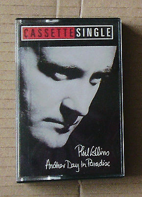 ref. 3623 PHIL COLLINS ANOTHER DAY IN PARADISE CASSETTE