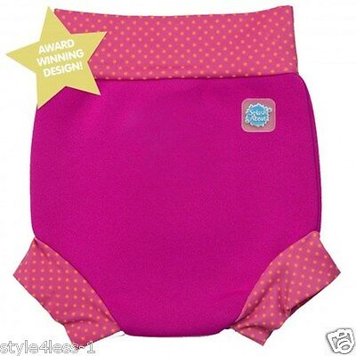 BABY HAPPY NAPPY by Splash About - Award Winning Baby Swimwear AGE 0-4 MONTH NEW