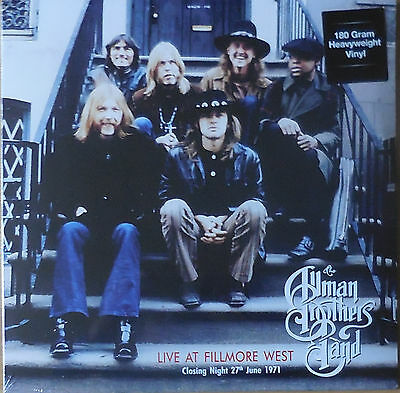 ALLMAN BROTHERS BAND live at fillmore west 27 june 1971 2LP NEU OVP/Sealed