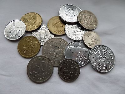 Good Collection Of Indonesian Coins Indonesia Asia