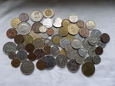 Lot Of Mixed World Coins As Seen Good Quality Some Old Some Rare