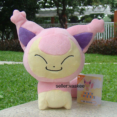 "Pokemon Center Go Kitten Skitty Eneco 7"" Plush Toy Cuddly Soft Doll Nintendo"