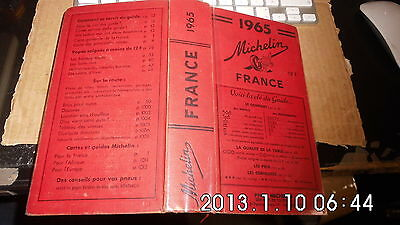 guide MICHELIN rouge - 1965 -