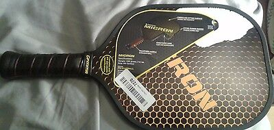 Gamma Micron Pickleball Paddle damaged sticker on one side see pic