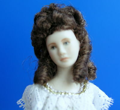 **** Hand Made1/12 scale Ladies Dollhouse Doll Wig ****