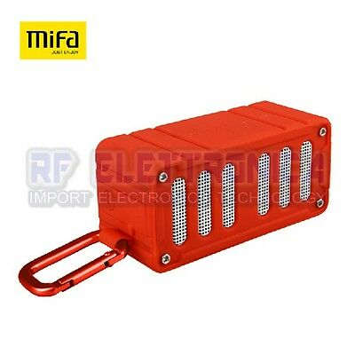 Original MIFA F6 Outdoor Waterpoof Electricity Display NFC AUX SD Card Wireless
