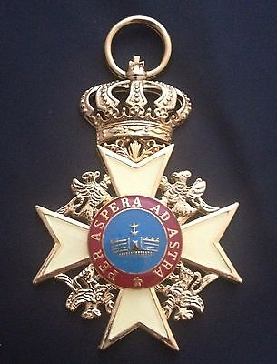 Museum Quality Theatrical Military Imperial German Order Of The Wendish Crown