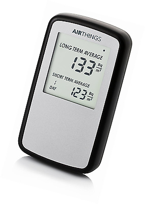 Corentium Home by AirThings, Radon Gas Detector, International Version in Bq/m