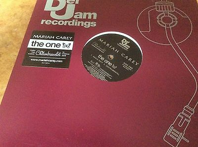 """Mariah Carey - The One - USA Promo Only 12"""" Vinyl."""