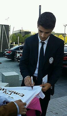 Morata signed Real Madrid player issue match un worn shirt Juventus Formotion