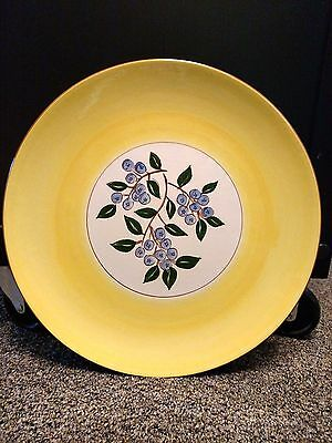 "Stangl BLUEBERRY Yellow 12"" Platter Plate"