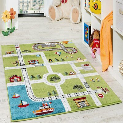 Kids Road Rug Play Room Mat Children Bedroom Carpet Small Large New HIGH QUALITY
