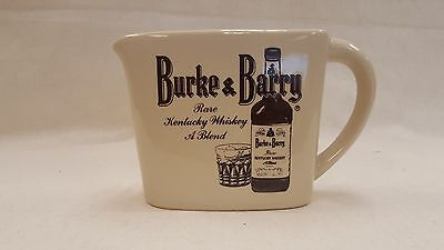 Burke and Barry Rare Kentucky Whiskey Water Vintage Collectible Pitcher