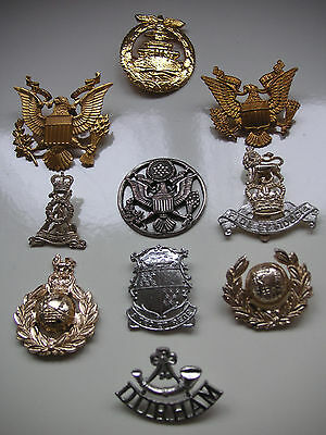 Collection of Ten Badges