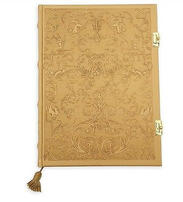 Disney Beauty And The Beast Gold Journal Diary Notebook Love Action