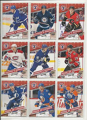 2016-17 UD Upper Deck NHCD National Hockey Card Day Complete Set (16 Cards) Mint