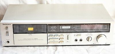Technics M216 Hifi Stereo Single Cassette Deck, Separate - 1980's Vintage Retro