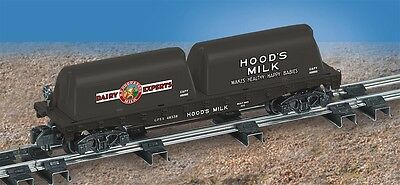 American Flyer Lionel 6-48538 Hoods Flat Car Milk Containers S Scale