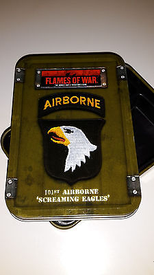 Flames of War Dice Tin Screaming Eagles  101st Airborne