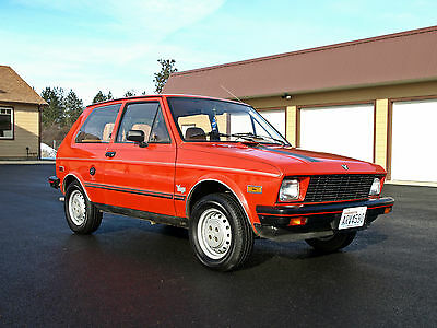 1986 Other Makes YUGO  1986 Yugo. 24,000 original miles and in absolutely original condition