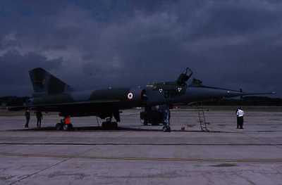 Original aircraft  slide  FRENCH  MIRAGE  IV  BZ/