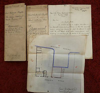 1897, Documents, Brierley Hill, Dudley, & Middlesex, London