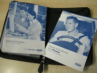Ford Fiesta Handbook Pack 2002-2006  Owners Guide Inc Service Book
