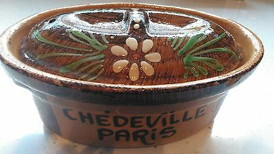 Vintage French Pate Pot