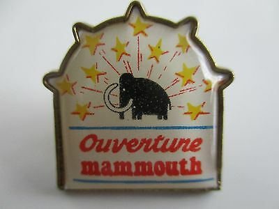 Pin's De Collection Ouverture Mammouth