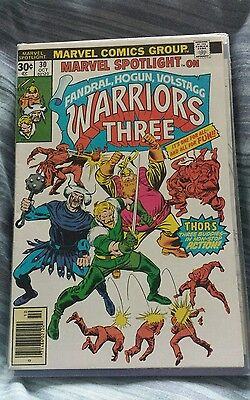 Marvel spotlight 30 vfn super hot 1st solo warriors 3 new thor movie hot hot hot