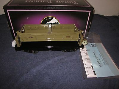 MTH 10-1084 218 Standard Gauge Operating Dump Car Mojave With Brass Trim MIB
