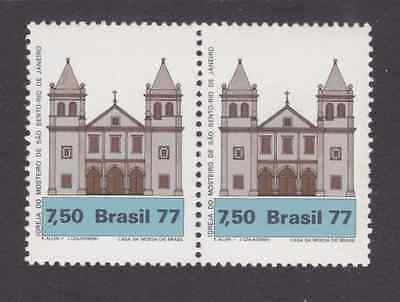 Brazil Stamps 1977 Mnh - Building / Church / Architecture