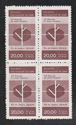 Brazil Stamps 1961 Mnh - Coffee Bean & Branch / Coffee International Convention