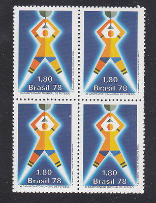 Brazil Stamps 1978 Mnh - Sports / Football / World's Championship