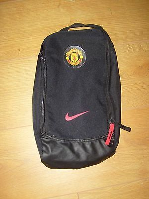 Nike Black Manchester United Boot Bag