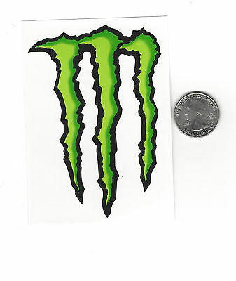 """Monster Energy Stickers 4""""x3"""" 20 Total Decals QTY"""