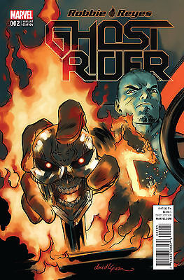 Ghost Rider #2 1:25 1-25 1 for 25 1 in 25 David Lopez variant cover Marvel