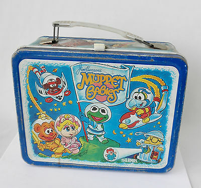 Vintage Metal Lunchbox: MUPPET BABIES~~Made by Thermos 1985