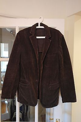 French Connection Brown Corduroy Jacket,Size 40,  FCUK Cool Retro Style