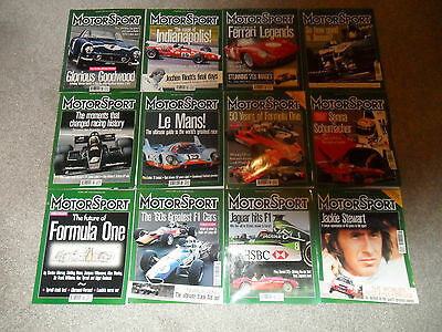 All 12 MOTOR SPORT Car Magazines From 2000
