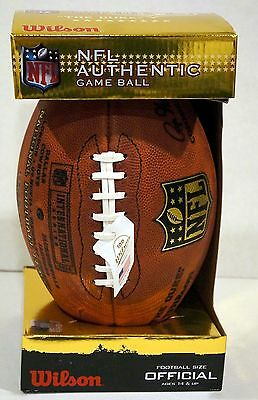NFL Authentic International Series Game Ball * Cowboys vs. Jaguars * 11-9-2014