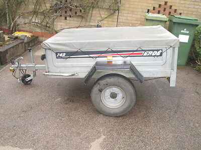 Erde 142 Tipping Trailer