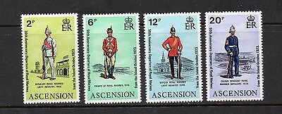 Ascension 1973 Royal Marines Departure Set Mounted Mint High Cat £9