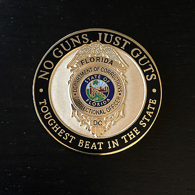 A1 Florida Department of Corrections Challenge Coin
