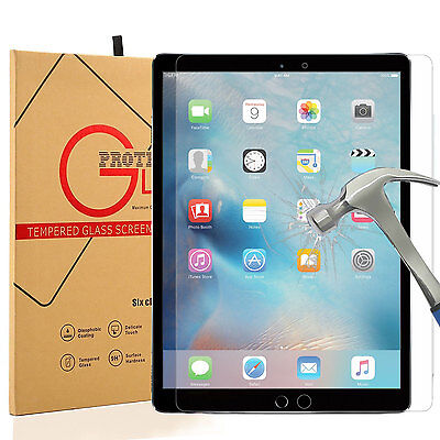 2017 Tempered HD Glass Screen Protector Film for Apple iPad Pro 12.9 inch