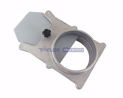"""3"""" Self Cleaning Cast Aluminum Blast Gate Cut Off Valve for Dust Collector ABG3"""